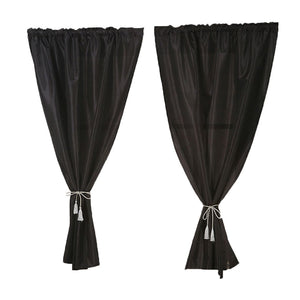 Solid Color Window Curtain