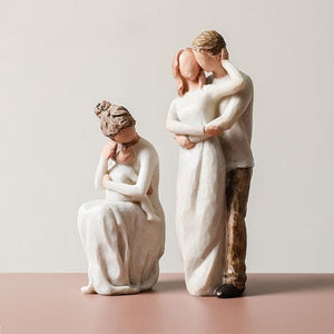Abstract Family Sculpture