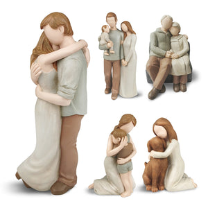 Nordic Resin Families  Sculpture