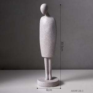 Nordic Abstract Love Statue