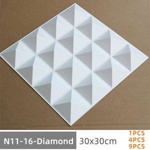12pcs 3D Adhesive Wall Board