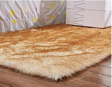 Load image into Gallery viewer, Plain Skin Fur Area Rugs
