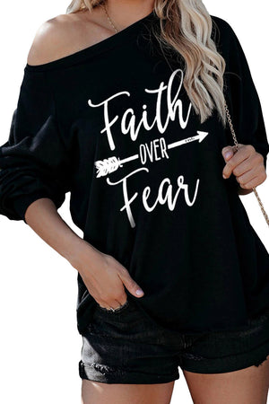 Chemisier Faith OVER Fear