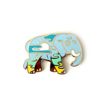 Load image into Gallery viewer, Afternoon Elephant Enamel Pin