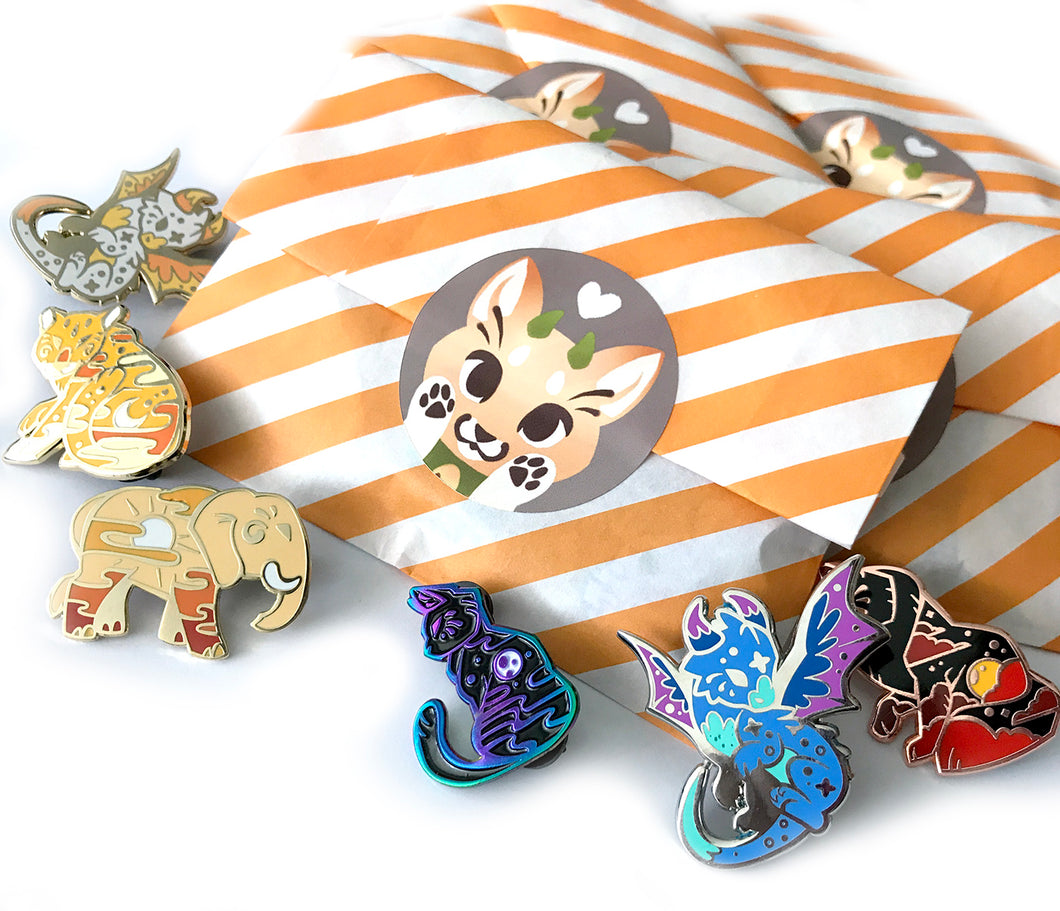 ETHEREAL FAMILIARS PIN SECONDS SALE - Mystery Grab Pin Bag