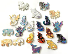 Load image into Gallery viewer, ETHEREAL FAMILIARS PIN SECONDS SALE - Mystery Grab Pin Bag