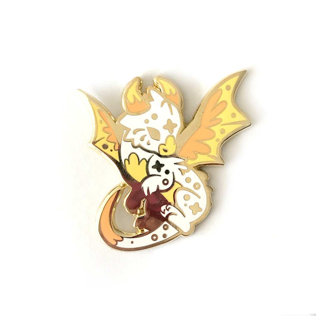 Comet Dragon Enamel Pin