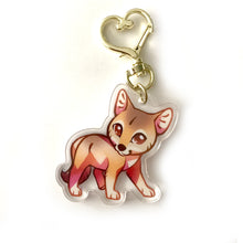 Load image into Gallery viewer, Coyote Keyring