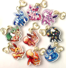 Load image into Gallery viewer, Flareon Keyring Charm