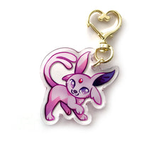 Load image into Gallery viewer, Espeon Keyring Charm