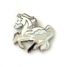 Load image into Gallery viewer, Icestorm Horse Enamel Pin
