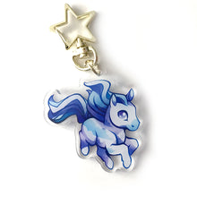 Load image into Gallery viewer, Icestorm Horse Keyring