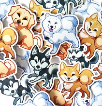 Load image into Gallery viewer, Cute Dog Sticker Set