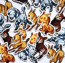 Load image into Gallery viewer, African Hoofed Animals Sticker Set