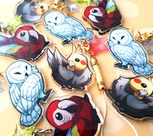 Load image into Gallery viewer, Chibi Macaw Keyring Charm