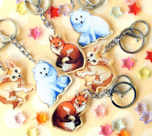 Load image into Gallery viewer, Fennec Fox Keyring