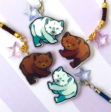 Load image into Gallery viewer, Chibi Brown Bears Keyring Collection