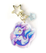 Load image into Gallery viewer, Capricorn Keyring Charm