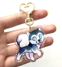 Load image into Gallery viewer, Alaskan Malamute Dog Keyring