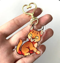 Load image into Gallery viewer, Caracal Keyring Charm