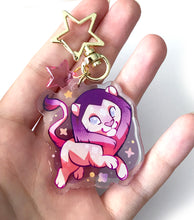 Load image into Gallery viewer, Leo Charm Keyring