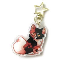 Load image into Gallery viewer, Mapleshade Cat Keyring Charm