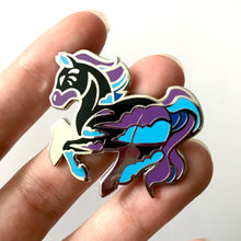 Load image into Gallery viewer, Nightstorm Horse Enamel Pin