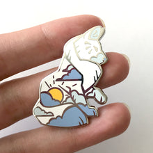 Load image into Gallery viewer, Noon Solar Wolf Enamel Pin