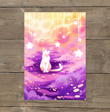 Load image into Gallery viewer, Wishing Cat - Art Print