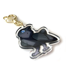 Load image into Gallery viewer, Raven Keyring Charm