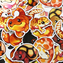Load image into Gallery viewer, Cute Reptiles Sticker Set