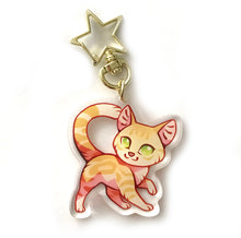 Load image into Gallery viewer, Sandstorm Cat Keyring Charm