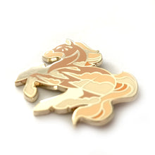 Load image into Gallery viewer, Sandstorm Horse Enamel Pin