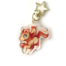 Load image into Gallery viewer, Sandstorm Horse Keyring