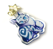 Load image into Gallery viewer, Silverstream Cat Keyring Charm