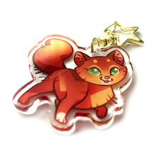 Load image into Gallery viewer, Squirrelflight Cat Keyring Charm