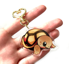Load image into Gallery viewer, Tortoise Keyring Charm
