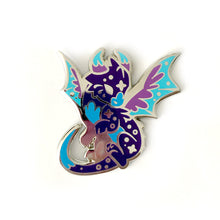 Load image into Gallery viewer, Umbra Dragon Enamel Pin