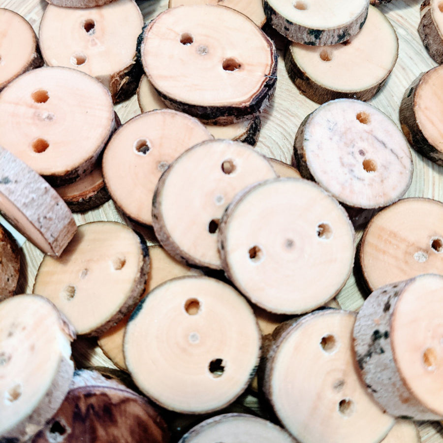 Handcrafted Maple Buttons