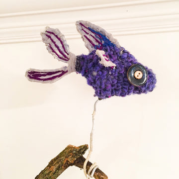 Crochet Fish Stop Motion Puppet