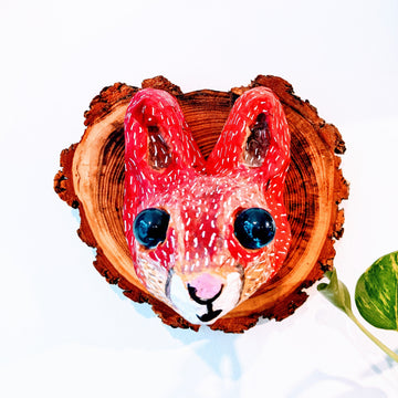 Vegan Taxidermy - Red Squirrel (Bright)