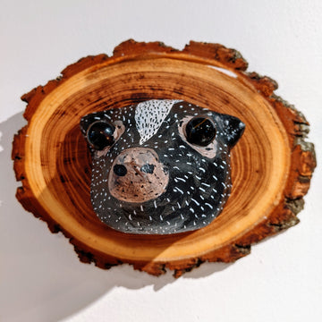 Vegan Taxidermy - Skunk