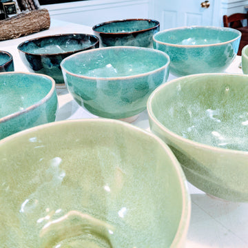 Handcrafted Soup Bowl - Spearmint
