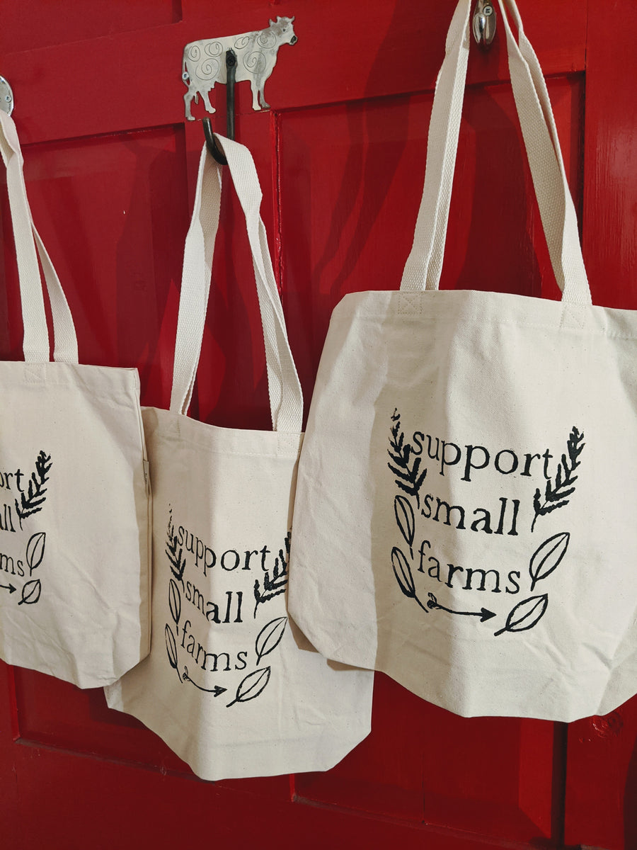 Support Small Farms Organic Canvas Tote