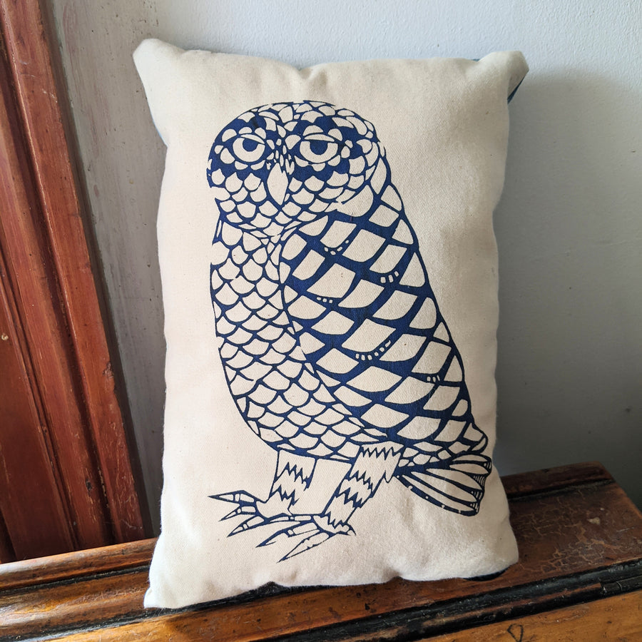 Owl Pillow - Rectangle