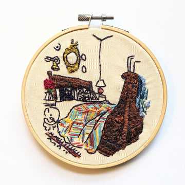 Bedroom Embroidery - Room Portrait club #4