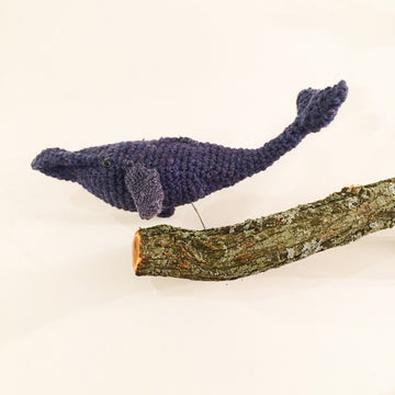 Crochet Whale Stop Motion Puppet