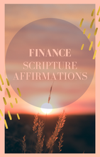 Load image into Gallery viewer, Finance Affirmation Scriptues