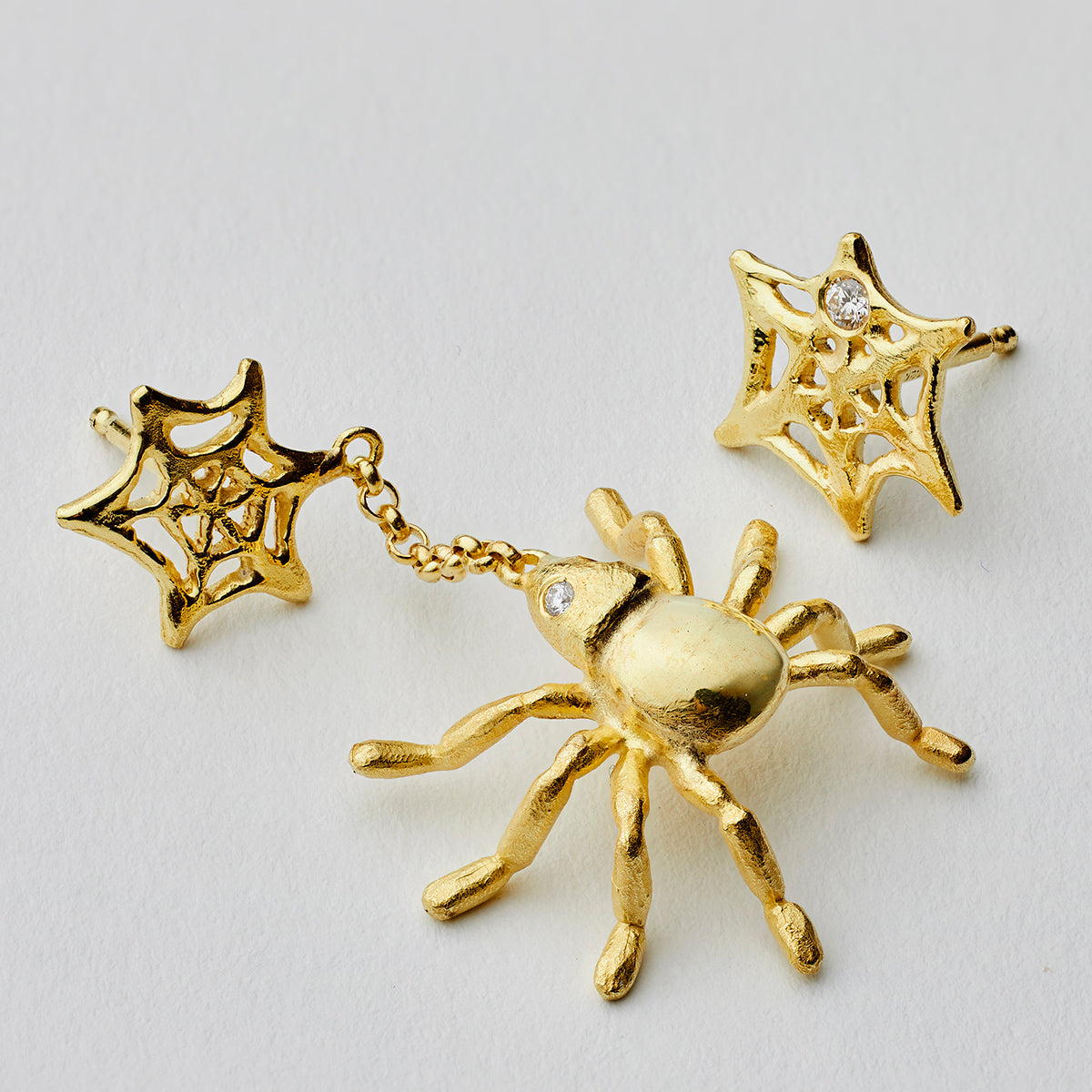 The Spider Gold Earring
