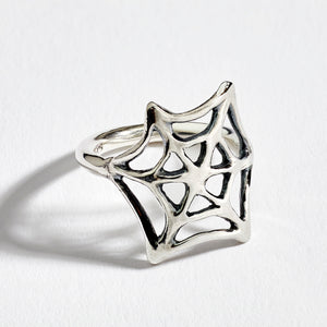 The Spider Silver Ring